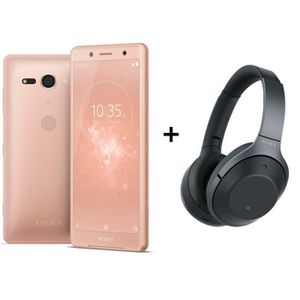 SMARTPHONE Sony Xperia XZ2 Compact Rose Corail + Sony WH-1000