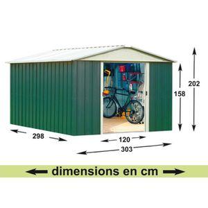 abri de jardin 15m2 achat vente abri de jardin 15m2 pas cher cdiscount. Black Bedroom Furniture Sets. Home Design Ideas
