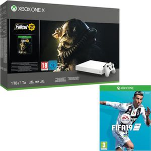 CONSOLE XBOX ONE Xbox One X 1 To Fallout 76 Edition limitée Robot W