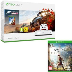CONSOLE XBOX ONE Xbox One S 1 To Forza Horizon 4 + Assassin's Creed