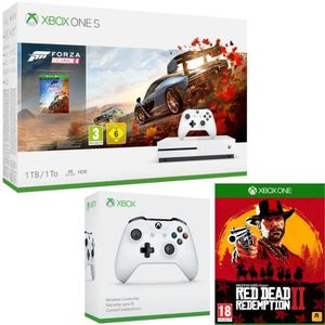 CONSOLE XBOX ONE Xbox One S 1 To Forza Horizon 4 + Red Dead Redempt