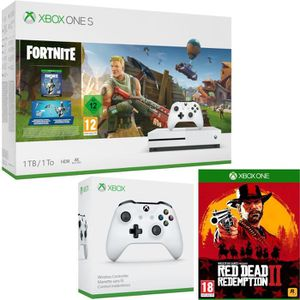 CONSOLE XBOX ONE Xbox One S 1 To Fortnite + Red Dead Redemption 2 +