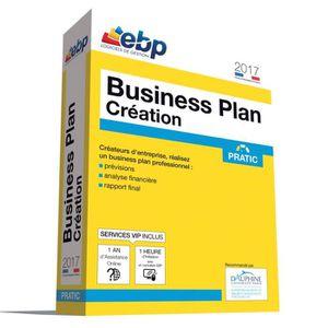 BUREAUTIQUE À TÉLÉCHARGER EBP Business Plan Création Pratic 2017 + Services
