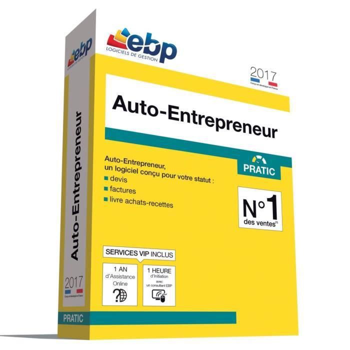 BUREAUTIQUE EBP Auto-Entrepreneur Pratic 2017 + Services VIP