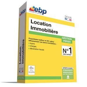 BUREAUTIQUE EBP Location Immobilière 2016 version 10 Lots
