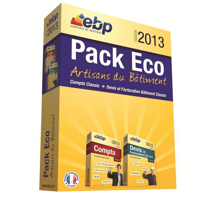BUREAUTIQUE EBP Pack Eco Artisans du Bâtiment 2013