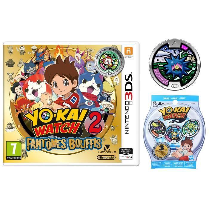 JEU 3DS Yo-Kai Watch 2 Fantômes Bouffis Jeu 3DS Édition Li
