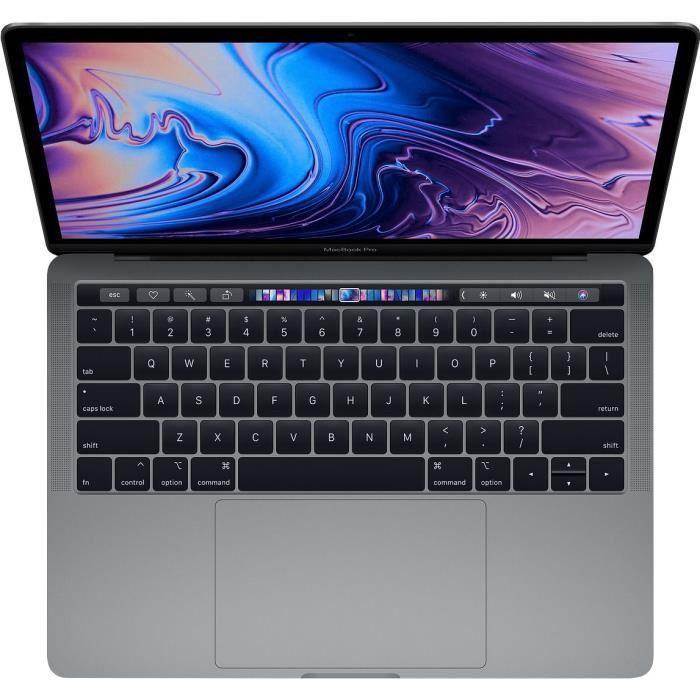 """ORDINATEUR PORTABLE MacBook Pro 13,3"""" Retina avec Touch Bar - Intel Co"""