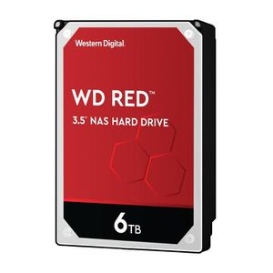 DISQUE DUR INTERNE WD Red™ - Disque dur Interne NAS - 6To - 5 400 tr/