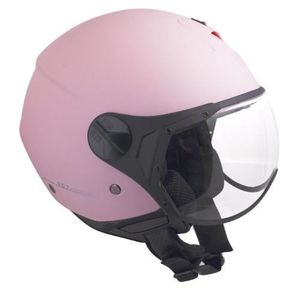 CASQUE MOTO SCOOTER CGM Casque Jet 107A Florence Rose Mat