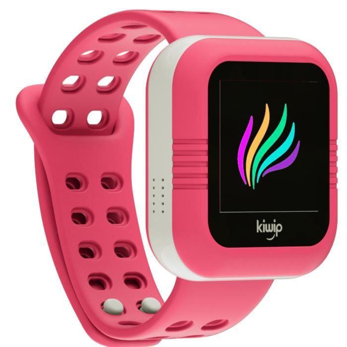 kiwip watch montre connect e pour enfant fushia smartphonespaschers. Black Bedroom Furniture Sets. Home Design Ideas
