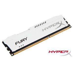 MÉMOIRE RAM Kingston 4Go DDR3 1866MHz CL10 HyperX FURY White