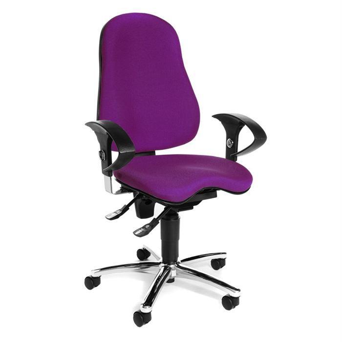 Chaise De Bureau Sitness 10 Violet