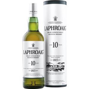 WHISKY BOURBON SCOTCH Laphroaig 10 ans
