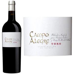 VIN ROUGE Campo Alegre 2012 Toro  - Vin rouge d'Espagne