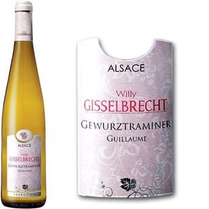 VIN BLANC Gisselbrecht Cuvée Guillaume 2013 Gewürztraminer -