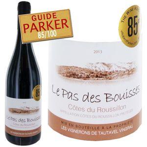 VIN ROUGE Le Pas des Bouisses  Côtes du Roussillon 2013 -...