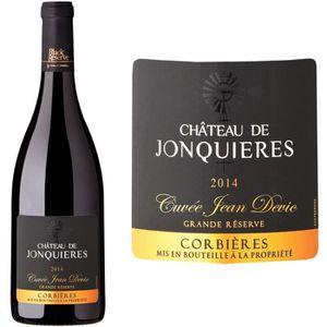 VIN ROUGE Château de Jonquières Cuvée Jean Devic 2014 Corbiè