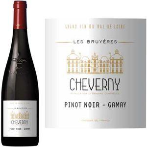 VIN ROUGE Les Bruyères Cheverny Rouge 2014