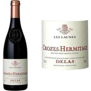 VIN ROUGE Crozes Hermitage les Launes Delas 2015 - vin ro...