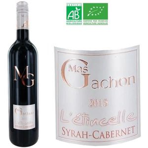VIN ROUGE Mas de Gachon  L'Etincelle Syrah-Cabernet 2015 ...