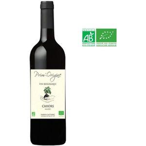VIN ROUGE Prim'Origine 2015 Cahors Vin rouge Sud-Ouest - Bio