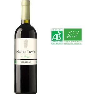 VIN ROUGE Notre Trace 2016 Bergerac - Vin rouge du Sud-Ouest