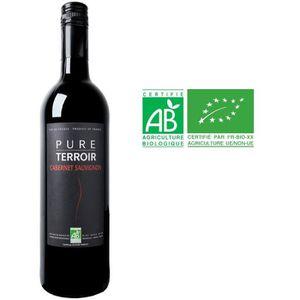 VIN ROUGE PURE TERROIR 2016 Cabernet Sauvignon Vin Bio du Pa