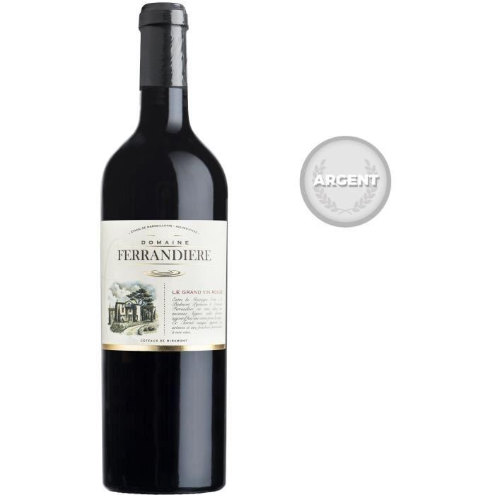 VIN ROUGE Domaine Ferrandière 2016 - Vin rouge du Languedoc