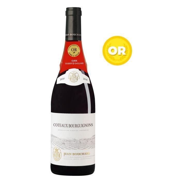 VIN ROUGE Jean Bouchard 2016 Côteaux Bourguignon - Vin rouge