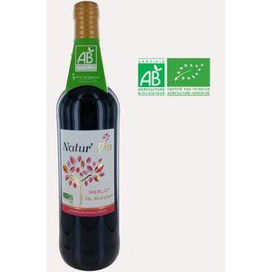 VIN ROUGE Terre de Vignerons Natur'Vin 2015 Atlantique - Bio