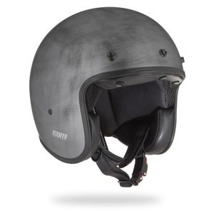 CASQUE MOTO SCOOTER CGM Casque Jet 170W Challenge - Homme - Gris