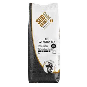 CAFÉ - CHICORÉE SUD OUEST CAFE Les Grands Crus 100% Arabicas Grain