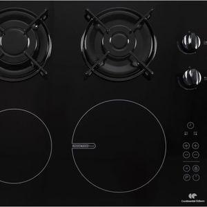 Plaque De Cuisson Mixte Gaz Electrique Achat Vente Plaque - Cuisiniere mixte 2 gaz 2 electrique pour idees de deco de cuisine