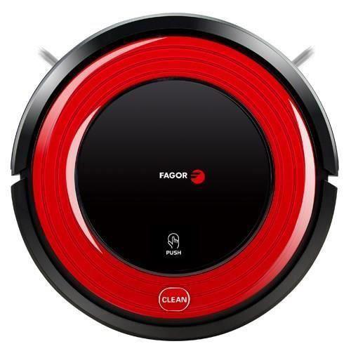 ASPIRATEUR ROBOT FAGOR FG736 Aspirateur robot laveur - Rouge/Noir