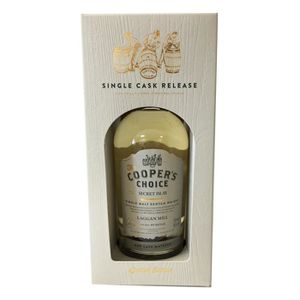 WHISKY BOURBON SCOTCH Laggan Mill Cooper's choice 46°