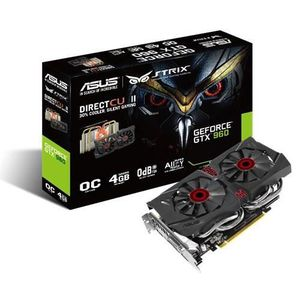 CARTE GRAPHIQUE INTERNE Asus STRIX GTX 960 4Go DDR5
