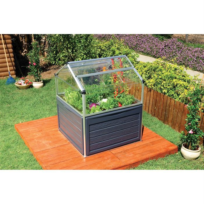 serre potager achat vente serre de jardinage serre. Black Bedroom Furniture Sets. Home Design Ideas