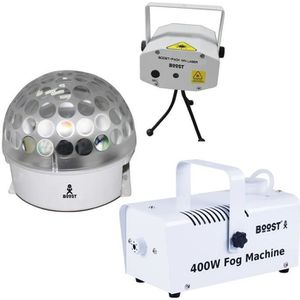 PACK LUMIÈRE IBIZA LIGHT WHITE NIGHT Pack d'effets lumineux Whi