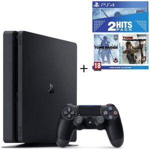 CONSOLE PS4 NOUVEAUTÉ Pack Nouvelle PS4 Slim 500 Go + Tomb Raider Editio