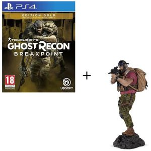 JEU PS4 Pack PS4 : Ghost Recon BREAKPOINT Édition Gold + F