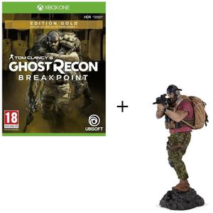 JEU XBOX ONE Pack Xbox One : Ghost Recon BREAKPOINT Édition Gol