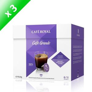 CAFÉ - CHICORÉE Café Royal Dolce Caffe Grande Caps Compatibles Sys