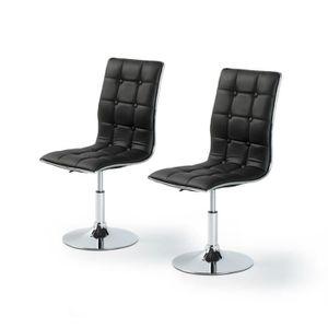 chaises achat vente chaises pas cher soldes d s le 10 janvier cdiscount. Black Bedroom Furniture Sets. Home Design Ideas