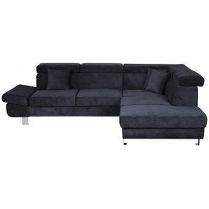 canape avec appui tete achat vente canape avec appui tete pas cher cdiscount. Black Bedroom Furniture Sets. Home Design Ideas