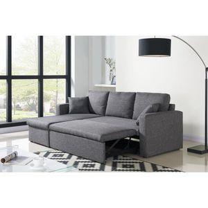 canap d 39 angle achat vente canap d 39 angle pas cher soldes d s le 10 janvier cdiscount. Black Bedroom Furniture Sets. Home Design Ideas