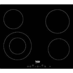 PLAQUE VITROCÉRAMIQUE  BEKO HIC64402T - Table de cuisson vitrocéramique -