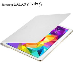 HOUSSE TABLETTE TACTILE Samsung Cover Blanc pour Galaxy Tab S 10''