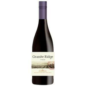VIN ROUGE Granite Ridge 2014 Syrah - Vin rouge d'Afrique du