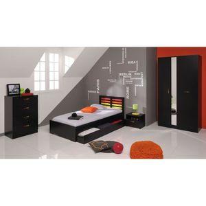chevet bois brut achat vente chevet bois brut pas cher. Black Bedroom Furniture Sets. Home Design Ideas